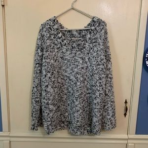 Urban Outfitters Ecoté Gray Confetti Sweater Small